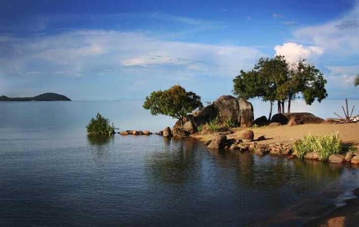 Bucht am Malawisee